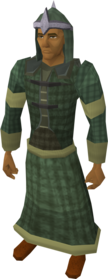 Druidic mage robes equipped