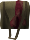 Red satchel detail