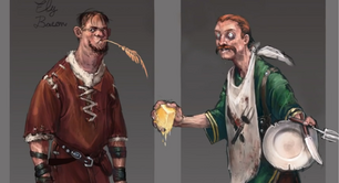 Bringing Home the Bacon concept art