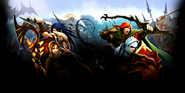 Combat Homepage & HQ Background