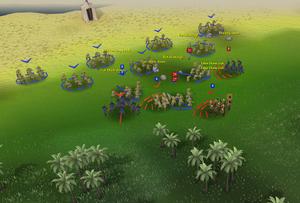 Mobilising armies closeup