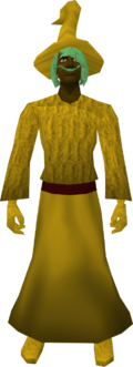 Robe (Canifis) yellow equipped
