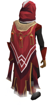 Completionist cape equipped