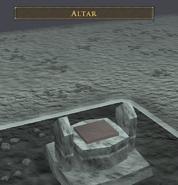 Stealing Creation altar