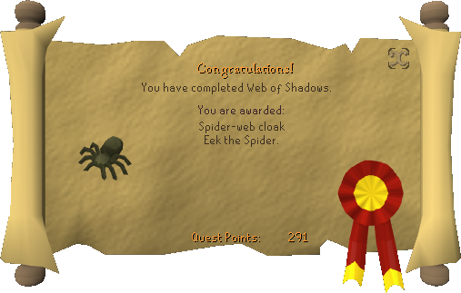 Web of Shadows reward.png