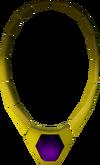 Dragon necklace detail
