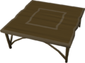 Teak kitchen table built