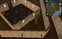 Map clue location Yanille anvil