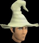 Cream hat chathead