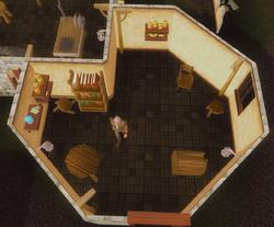 Aubury's Rune Shop interior