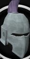 Intricate decorative helm chathead