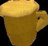 Greenman's ale (m) detail