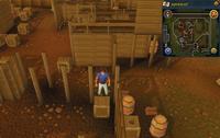 Map clue location Lumberyard