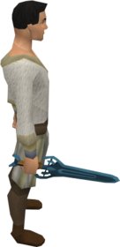 Rune sword equipped