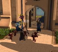 Wizard Taloram summons