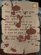 Decaying tome Page1