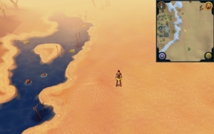 Scan clue Kharidian Desert east of Pollniveach mayor's house