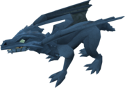 Baby dragon (blue) pet
