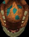 Basilisk head (stuffed) detail