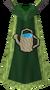 Retro Farming cape (t) detail