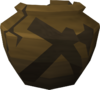 Cracked mining urn (nr) detail