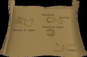 Fremennik region boat map