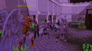 Padomenes training knights