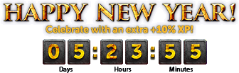 Bonus XP Weekend 2016 interface