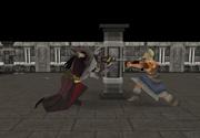 Thok getting his sword back