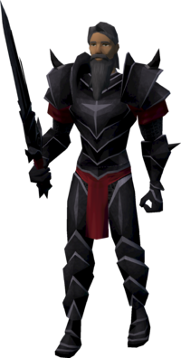 Black knight doorkeeper