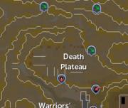 Death Plateau (location) map