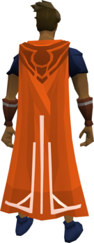 Milestone cape (50) equipped