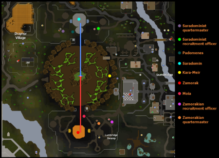 Battle of Lumbridge map