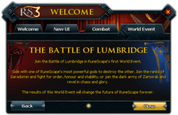 World Event Battle of Lumbridge