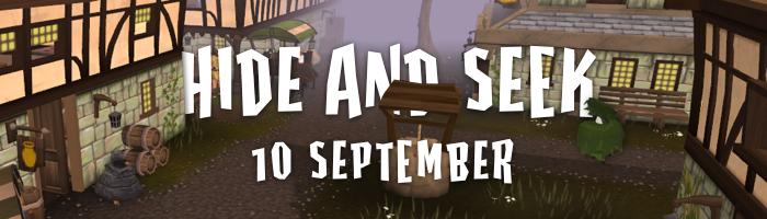 Hide and Seek 10 September 2016