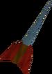 Rune dart detail