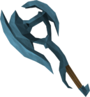 Rune battleaxe detail