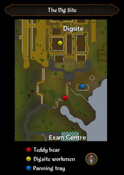 The Dig Site map