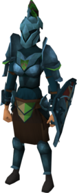 Rune heraldic armour set 4 (sk) equipped