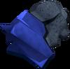 Uncut lapis lazuli detail
