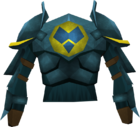 Rune platebody (h3) detail