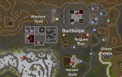 Burthorpe map (historical)