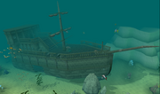 Dragontooth Shipwreck
