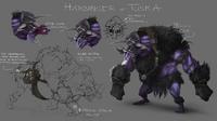 Harbinger of Tuska concept art