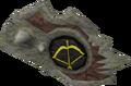 Sacred clay shield (ranged) detail