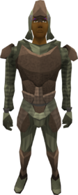 Protoleather armour (male) equipped