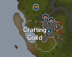 Crafting Guild map