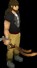 Corrupt dragon scimitar equipped
