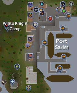 Port Sarim map
