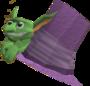 Flying Goblin Hat detail